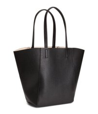 Black Leather Tote €19.99 H&M