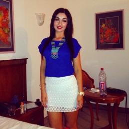 Skirt: Zara Top: Newlook Necklace: Penneys