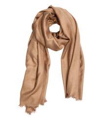 Camel scarf €9.99 H&M