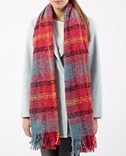 Pink tartan scarf Newlook €17.99