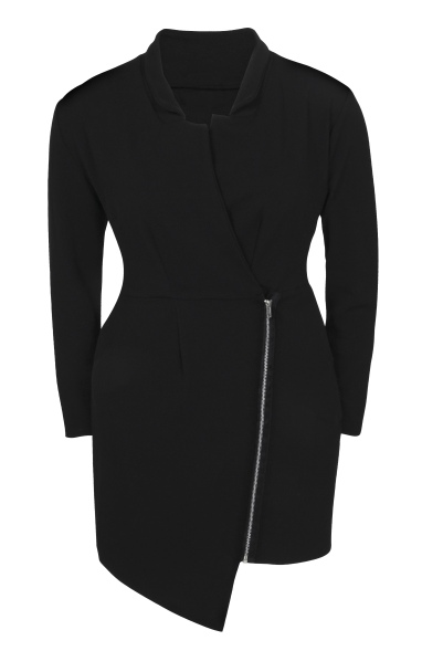boohooPLUS BLACK DRESS WITH ZIP €34