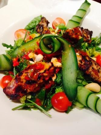 Chilli Chicken Salad from GBK