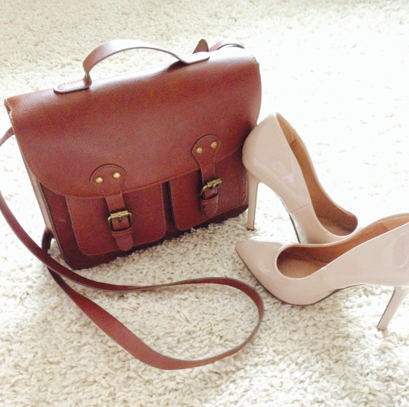 accessories, H&M, satchel, nude heels, primark, fashion blog, style inspiration, blogger, bargain, shopping