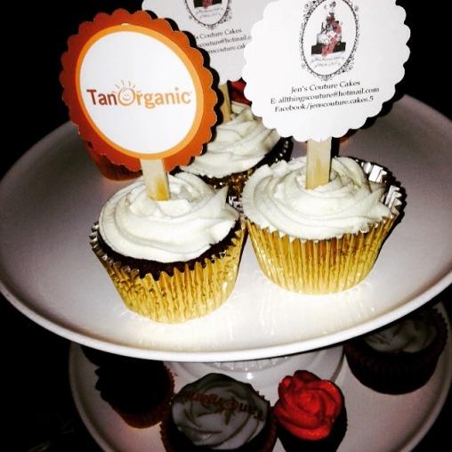 cupcakes, tanorganic, faketan, sponsors, gold, sweet tooth, bog awards