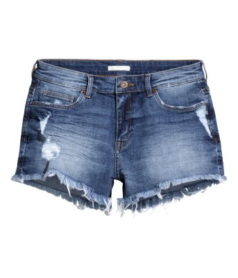 Denim shorts, cut offs, tanned, summer holidays, fashion blog, style inspo