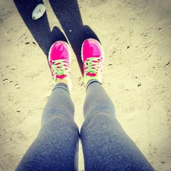 beach, fitness, happiness, Ireland, positivity, weight loss