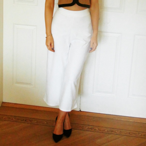 Fashion, Style, Photography, Culottes, River Island, Crop Top, Outfit Inspiration,