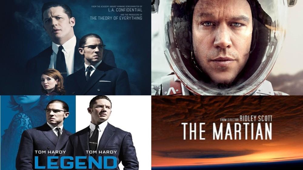 Legend, Tom Hardy, The Martian, Ridley Scott, Irish Blogger, Photography