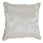 Grey Velv Cushion