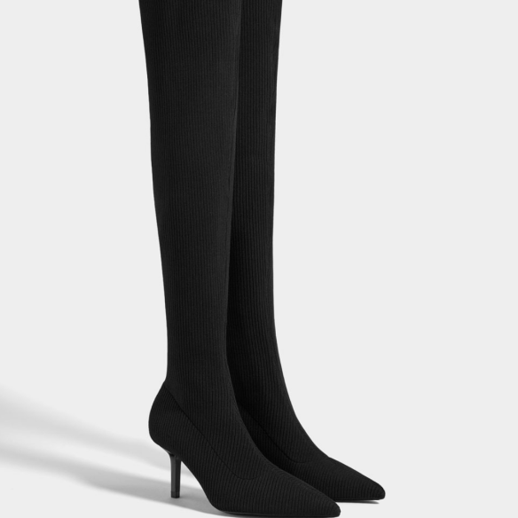 black boots, Over the knee boots, thigh high boots, style, fashion, shopping, photography, inspiration