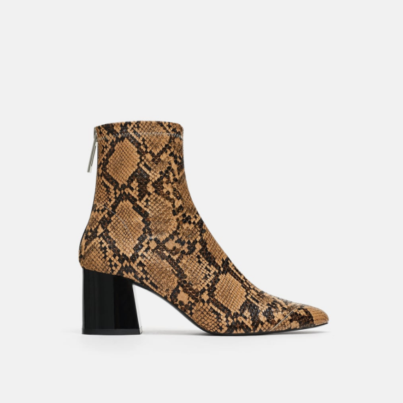 snake print, ankle boots, snakeprint boots, shopping, zara, zara boots,