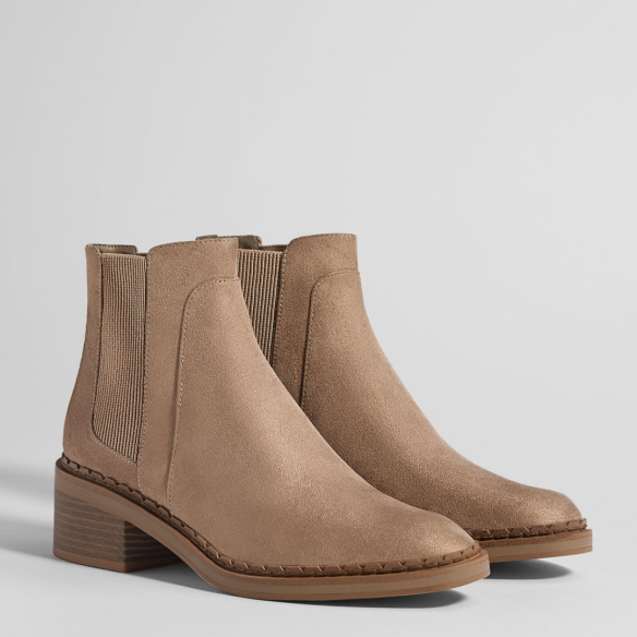 Bershka, Ankle Boots,Beige Ankle Boots, Photography, Style, Winter Style, Inspiration, Boots